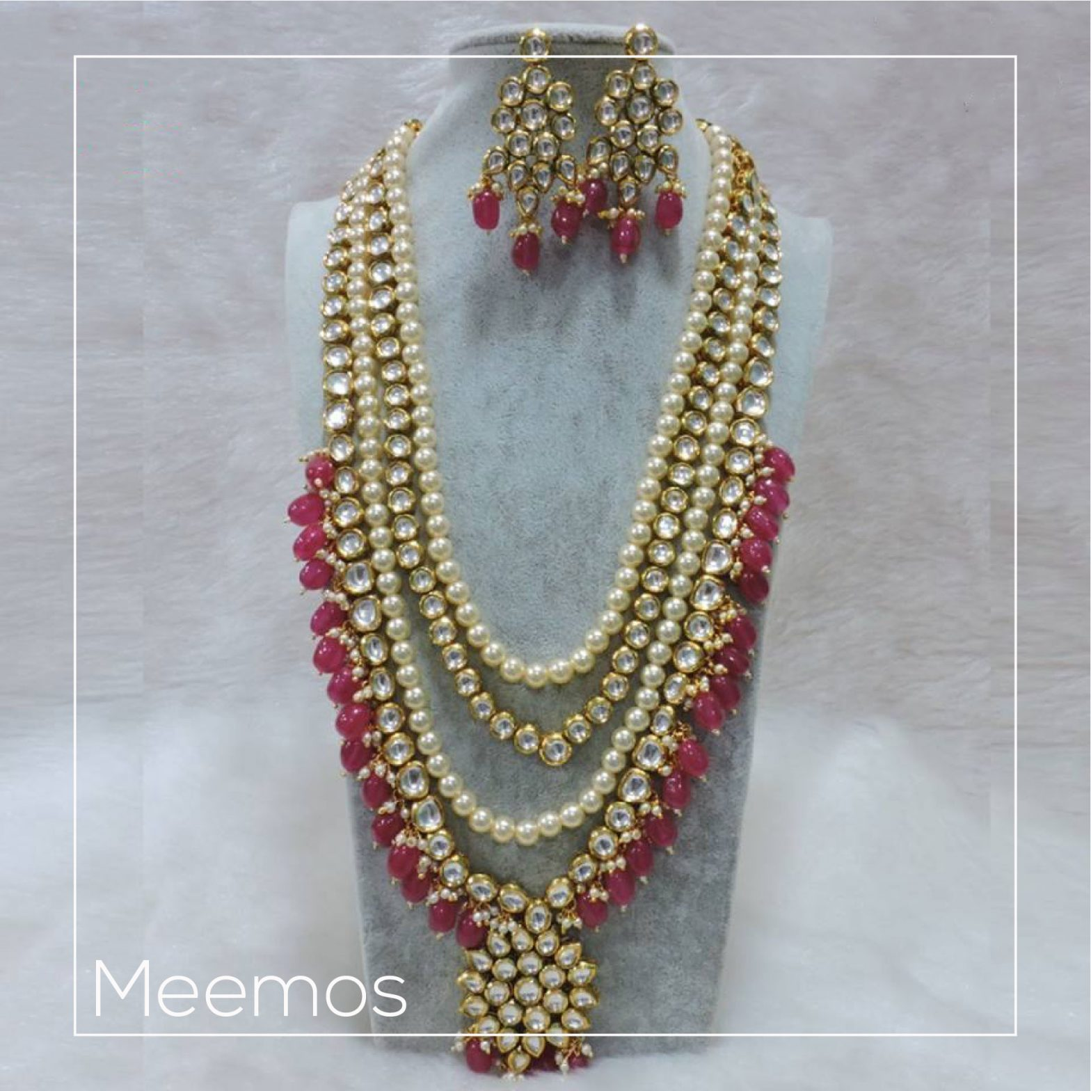 Can't decide on your wedding jewelry? Meemo's to the rescue!