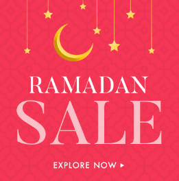 Mother's Day Sales are over, Ramadan Sales are NOT!