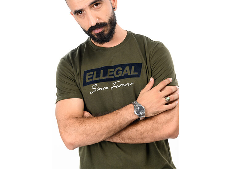 Ellegal men's tee shirts