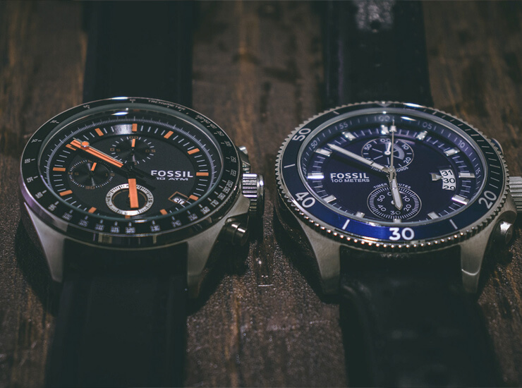 4 fossil watches on sale