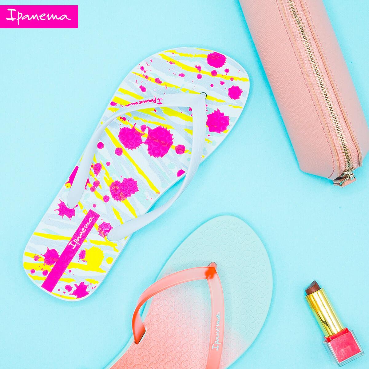Ipanema Flip Flops Slippers Go Beyond the Ordinary