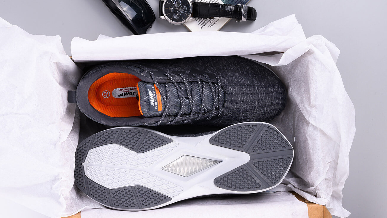 branded jump shoes