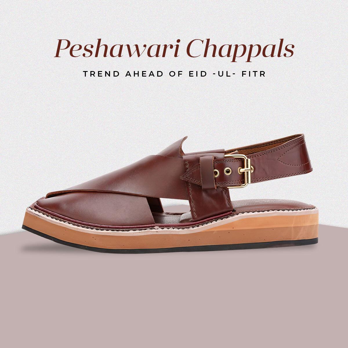 Pakistan's Traditional Peshawari Chappals Trend Ahead of Eid-Ul-Fitr